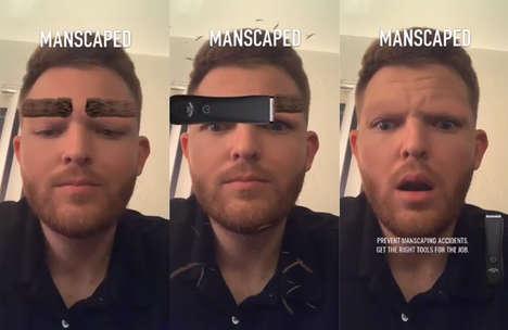 AR Grooming Lenses