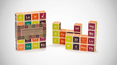 Scientific Education Toy Blocks