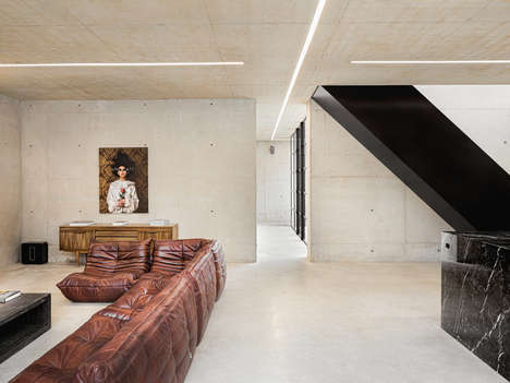 Ghost-Inspired Concrete Homes