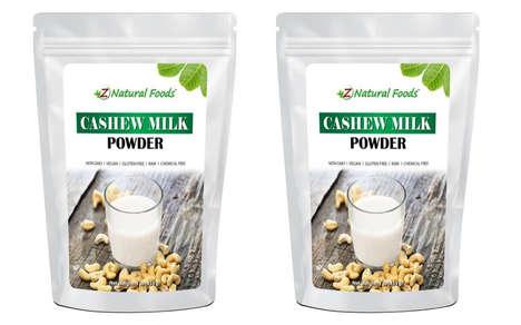 Vegan-Friendly Nut Milk Powders