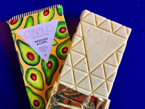 Creamy Chip-Infused Chocolate Bars