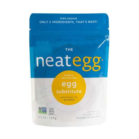 Chickpea-Based Egg Replacements