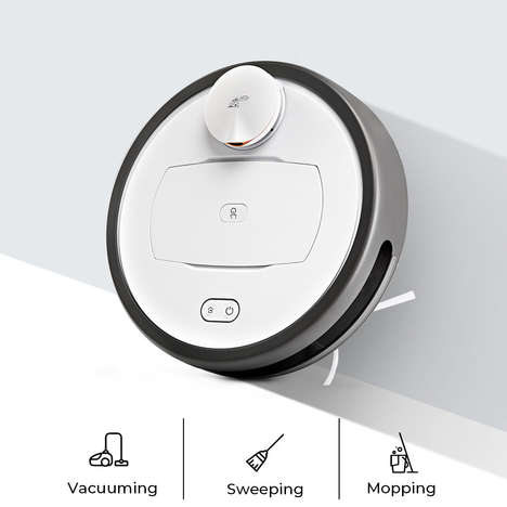 Three-in-One Robot Vacuums