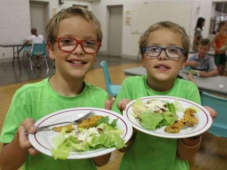 Health-Focused Educational Food Camps
