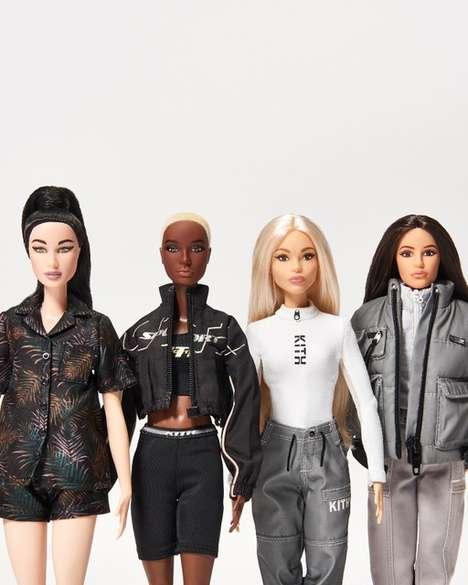 Collaborative Fashion Dolls