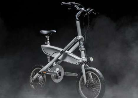 Folding X-Frame Electric Bikes