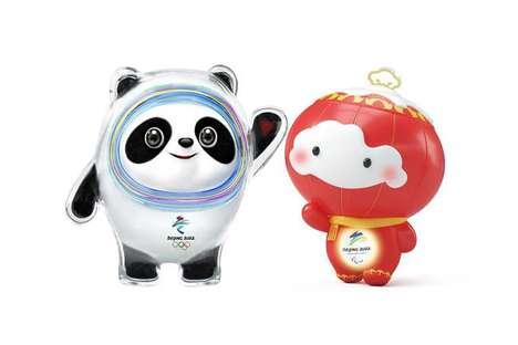 Global Winter Games Mascots