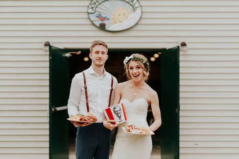Fried Chicken-Themed Wedding Services
