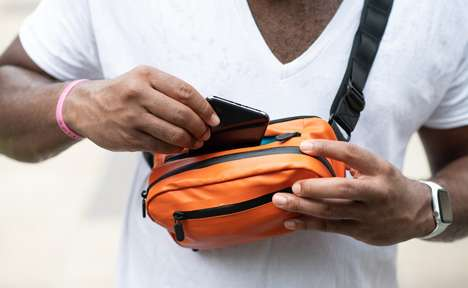 Wireless Charger Fanny Packs