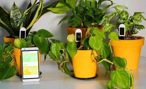 Health-Tracking Plant Sensors