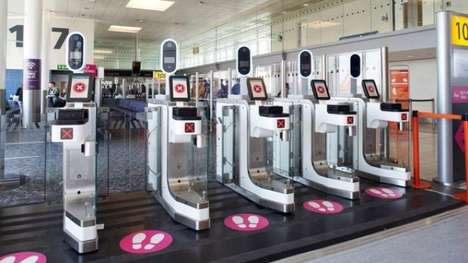 Facial Recognition Airport Terminals