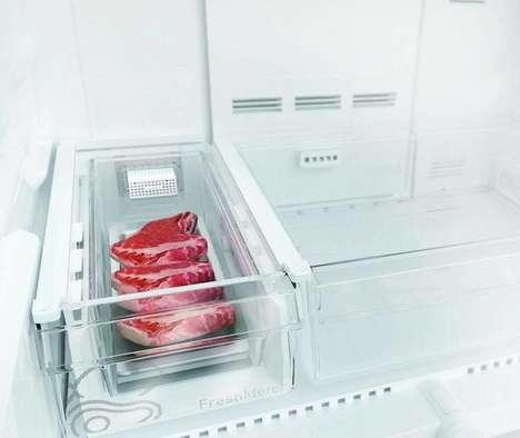 Freshness-Concerned Refrigerator Tech