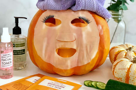 Pumpkin Spice Face Masks