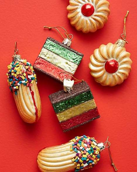 Cookie-Themed Christmas Ornaments