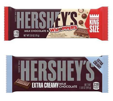 Dual-Flavored Candy Bars