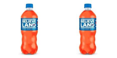 Sporty Orange-Hued Sodas
