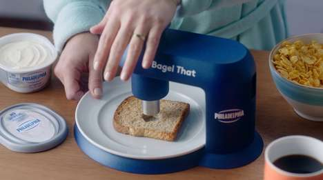 Hole-Punching Bagel Makers