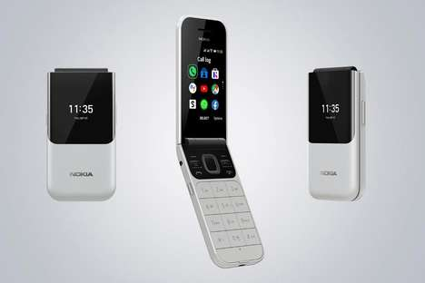 Stylishly Revamped Flip Phones