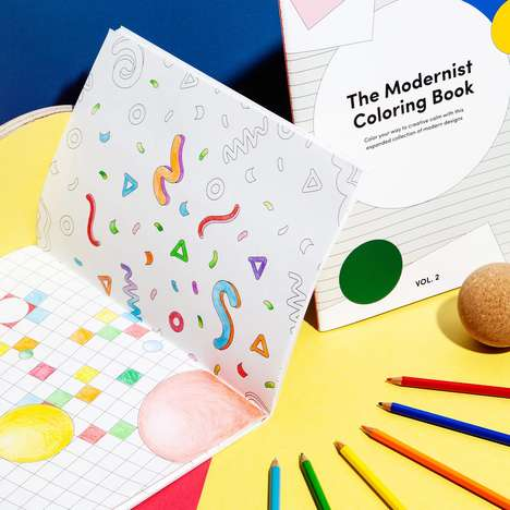 Minimalist Art Coloring Books
