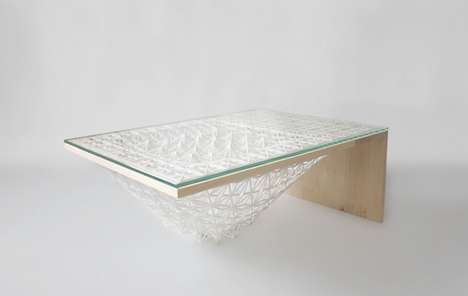 Multi-Material 3D-Printed Tables