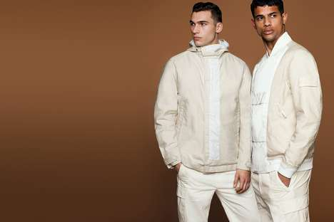 Monochromatic Techinical Garments