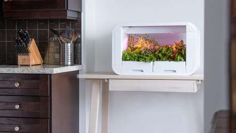Automated Indoor Urbanite Gardens