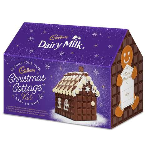 Festive Chocolate House Kits