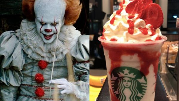 Scary Clown-Themed Beverages