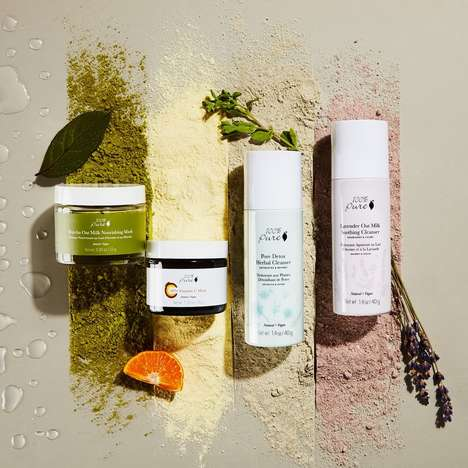 Water-Activated Powdered Skincare