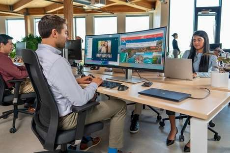 Immersive Dual-PC Monitors