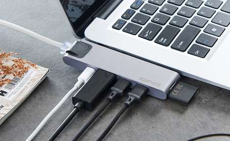 Seven-in-One Laptop Hubs