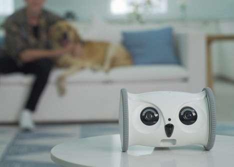 Robotic Avian-Inspired Pet Nannys