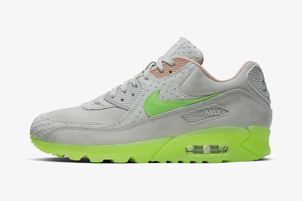 Lime Green Chunky Sneakers : New Species