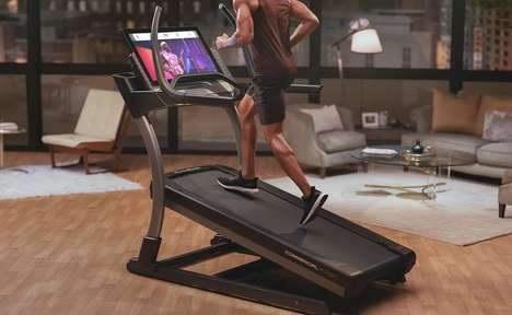 Interactive Digital Trainer Treadmills