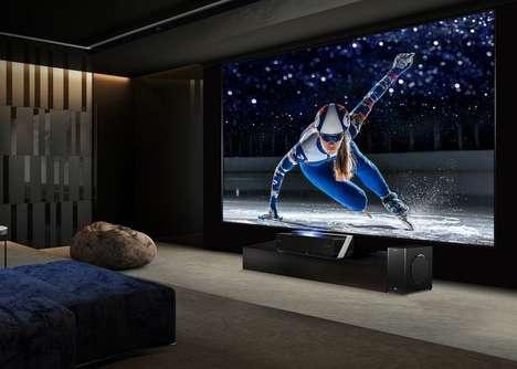 Immersive Laser TV Projectors