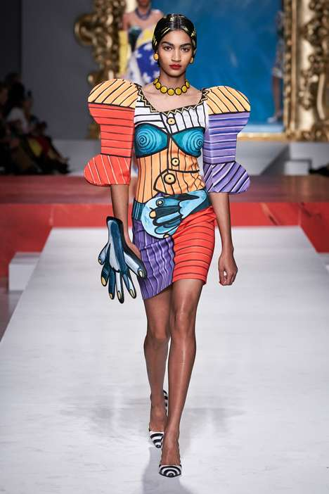 Cubist Fashion Collections