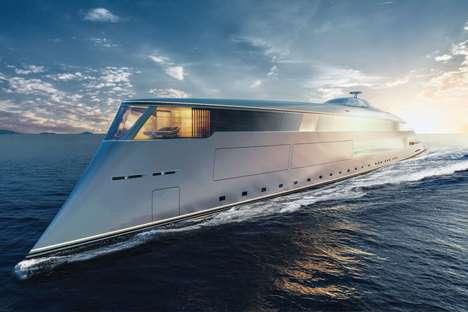 Hydrogen-Powered Superyachts