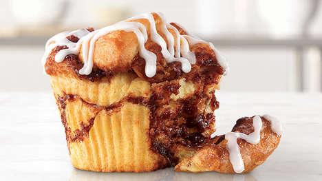 Hybrid Muffin Cinnamon Buns