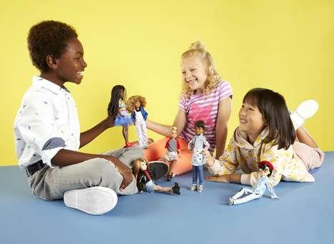 Customizable Gender Neutral Dolls