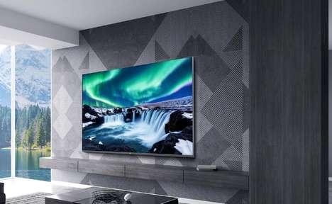 Ultra-Thin Bezel Smart TVs