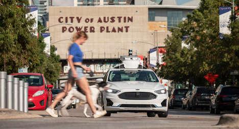Autonomous Car Test Cities