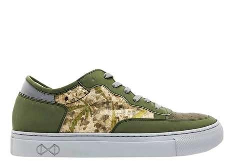 Cannabis Leaf Sneakers