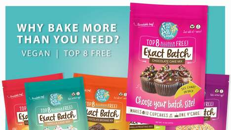 Perfectly Portioned Baking Mixes