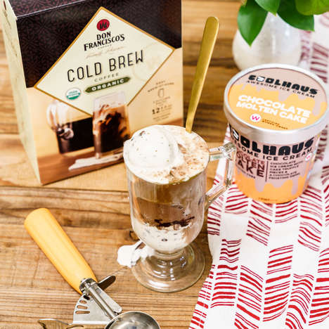 Cold Brew Coffee Floats