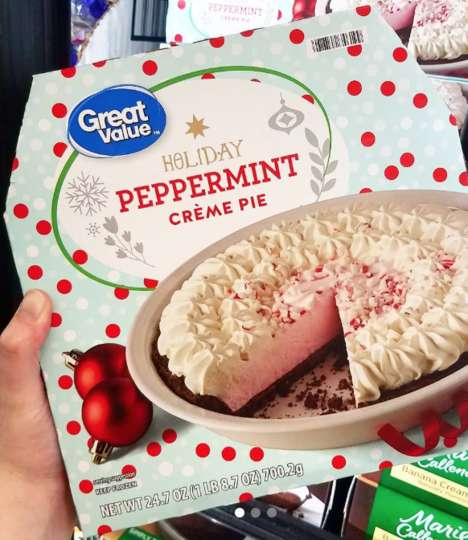 Creamy Peppermint Pies