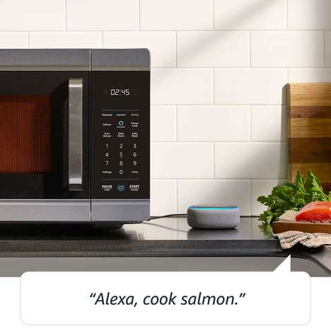 Voice-Controlled Smart Ovens