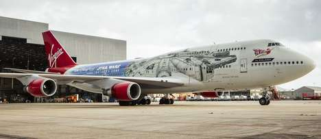 Sci-Fi Movie-Branded Planes