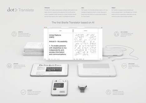 AI Braille Translators