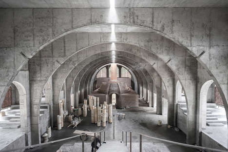 Arched Concrete Porcelain Factories