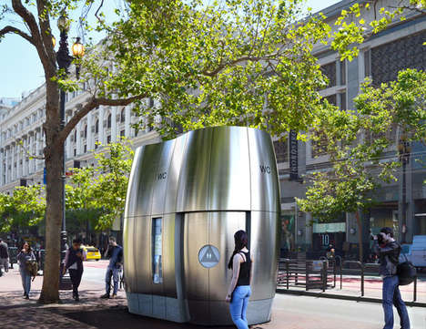 Greenery-Infused Public Kiosks
